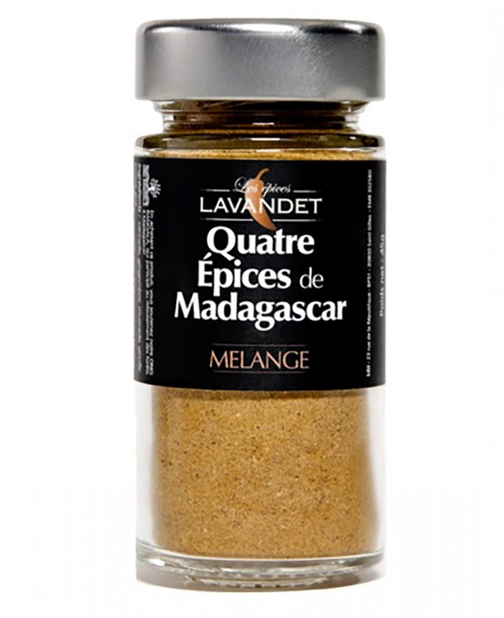 Quatres épices Madagascar