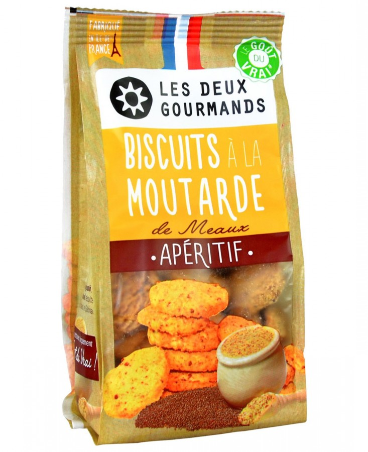 Biscuits à la moutarde de...
