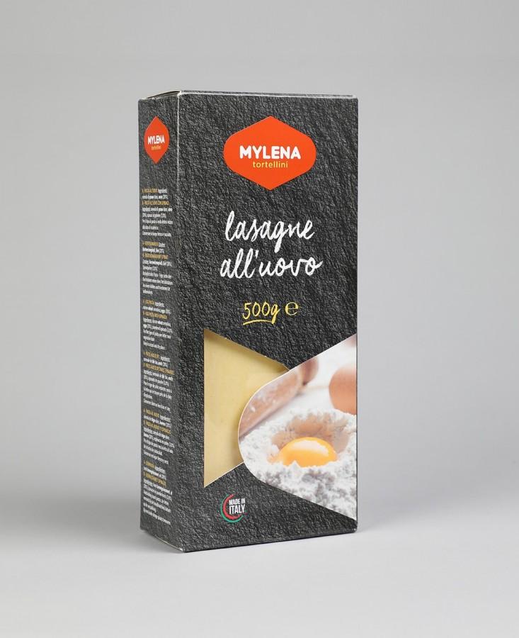 Lasagne sèche aux oeufs