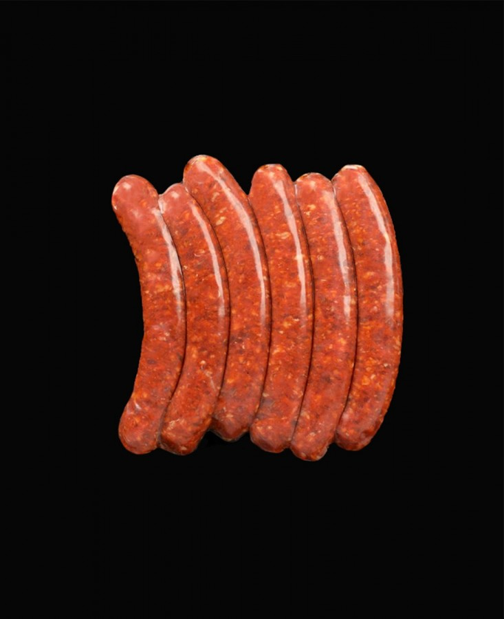 Veritable merguez x6